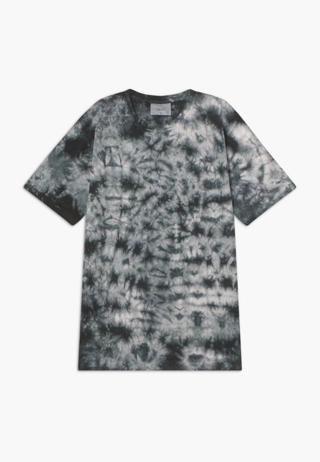 NJORD TEE - T-shirt con stampa - jet black