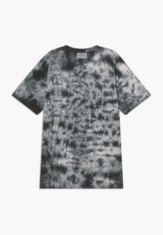 NJORD TEE - T-shirt print - jet black