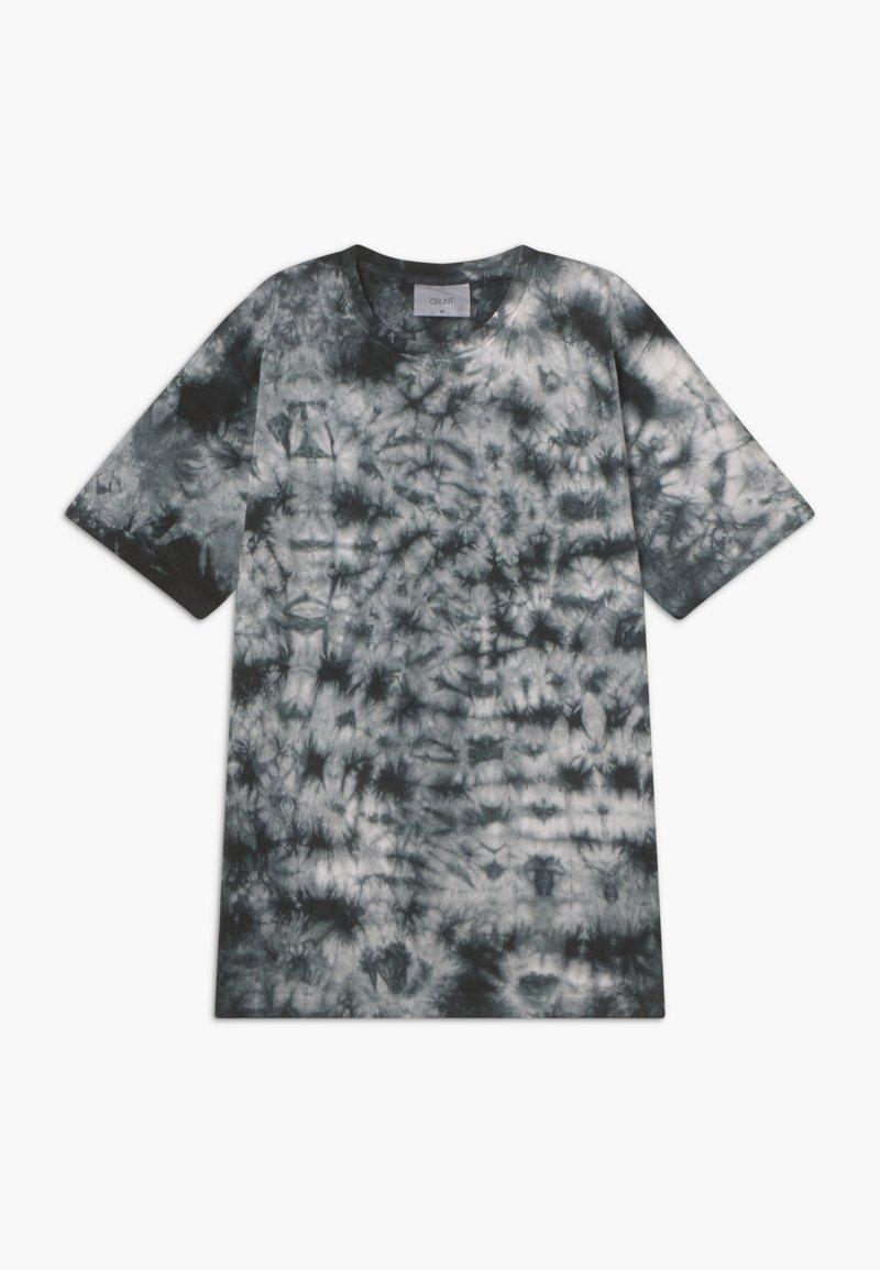 Grunt - NJORD TEE - Print T-shirt - jet black