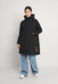 G-Star - HOODED FISHTAIL - Winter coat - black - 0