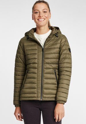 Winter jacket - ivy green
