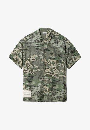 Shirt - camo green