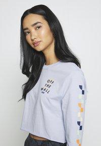 Vans - REIGN MARKER - Langærmede T-shirts - zen blue - 3