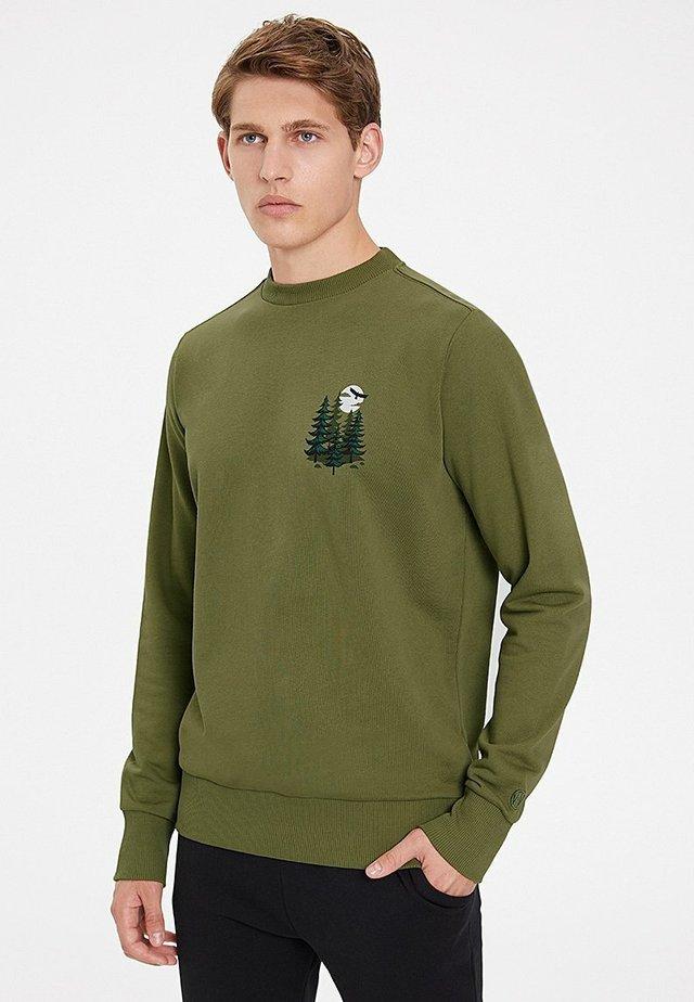 PINE - Sweatshirt - capulet olive