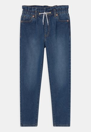HIGH LOOSE TAPER  - Jeansy Relaxed Fit - blue denim