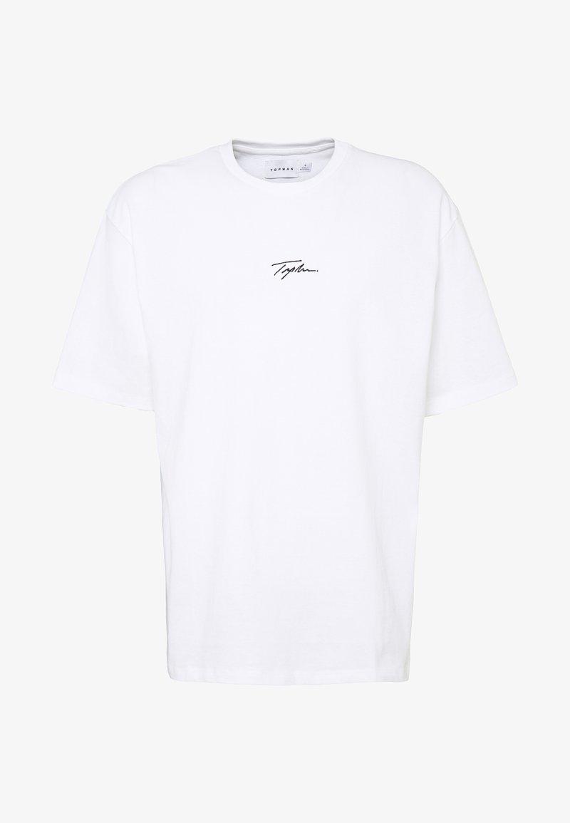 Topman - UNISEX SIGNATURE TEE - T-Shirt print - white
