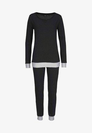 DREAMS - Pyjama set - schwarz gepunktet