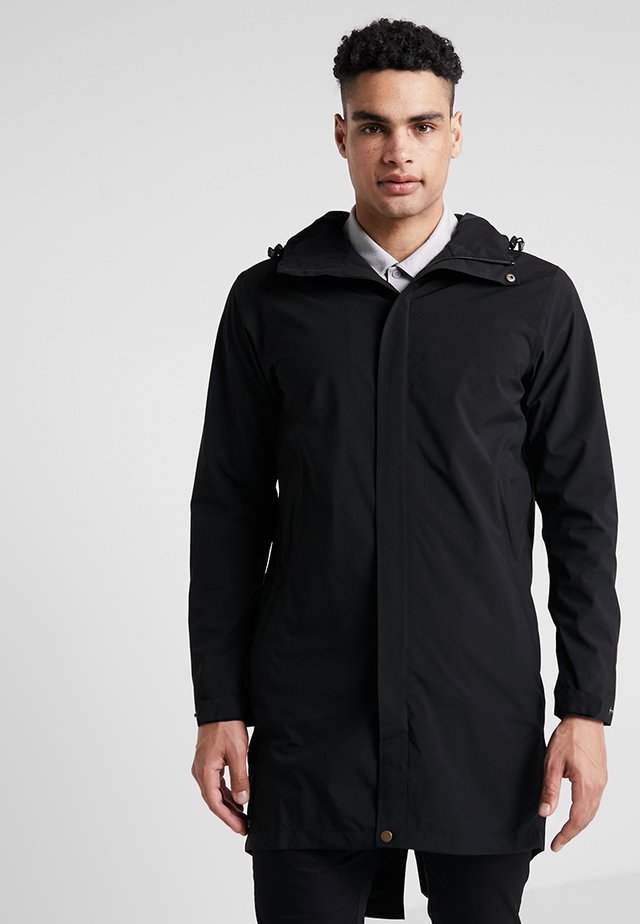 RAIN COAT - Parkaer - black