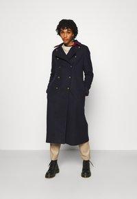 YAS - YASPERFORM COAT - Classic coat - sky captain - 1