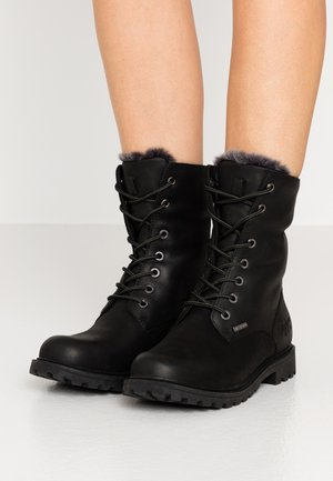 HAMSTERLEY - Lace-up ankle boots - black