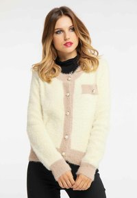 faina - Cardigan - light yellow - 0