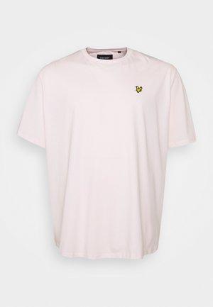 PLAIN - Basic T-shirt - stonewash pink