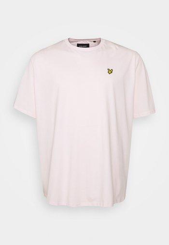 PLAIN - T-shirt - bas - stonewash pink