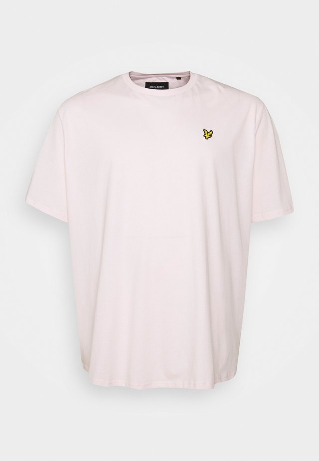 PLAIN - Jednoduché triko - stonewash pink