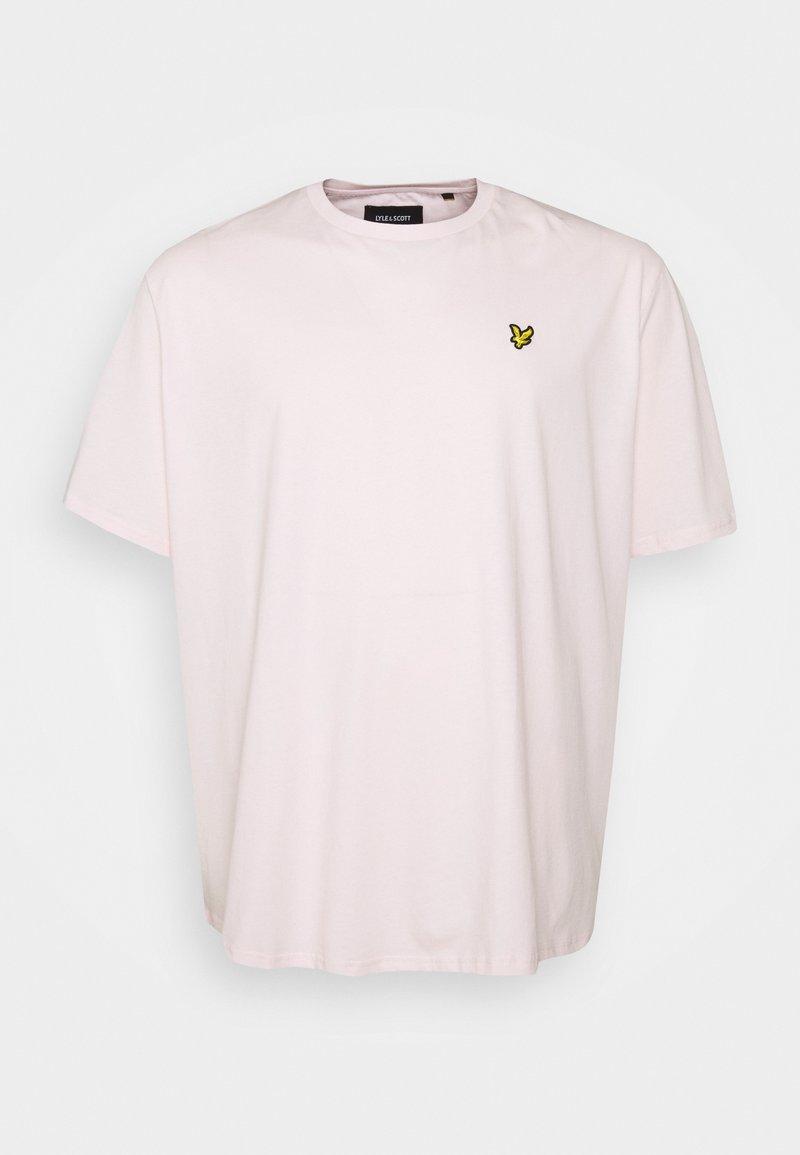 Lyle & Scott - PLAIN - T-shirt - bas - stonewash pink
