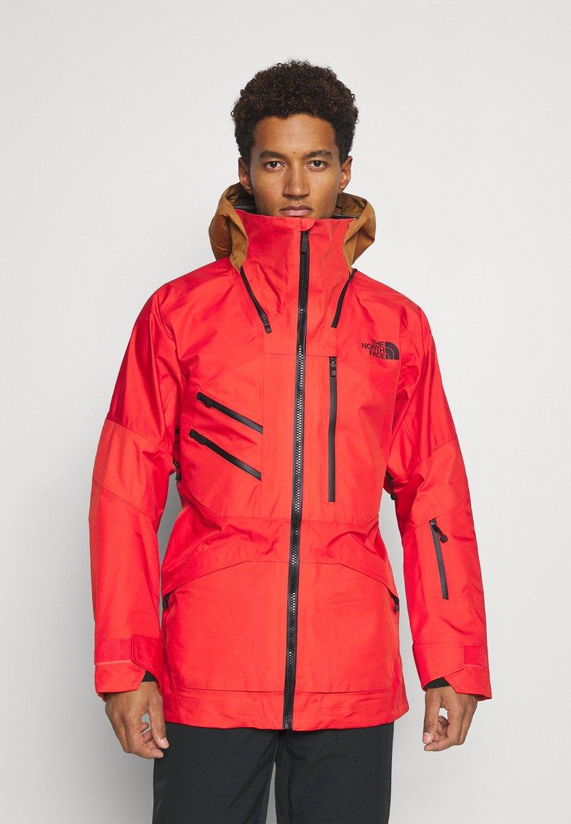 The North Face - BRIGANDINE FUTURELIGHT JACKET EVE - Ski jacket - flare/timbertan