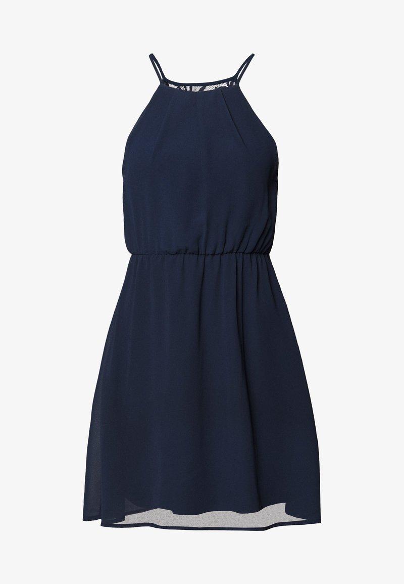 VILA PETITE - VIMICADA  SHORT  DRESS - Robe d'été - navy blazer