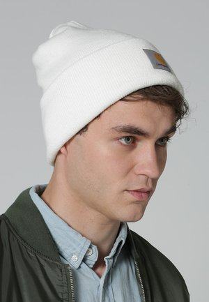 WATCH HAT - Gorro - white