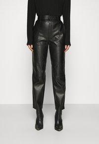 NIKKIE - MELLA PANTS - Trousers - black - 0