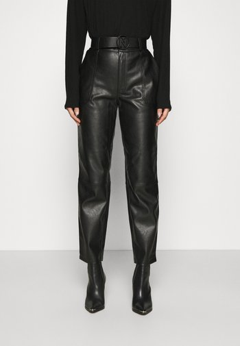 MELLA PANTS - Trousers - black