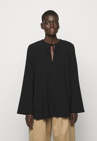 Theory - FLUID BLOUSE ADMIRAL - Blouse - black - 0