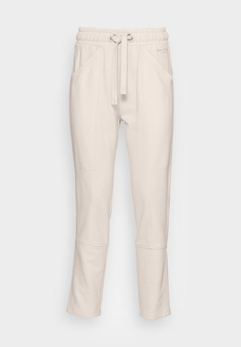 PANTS CUTLINES ELASTIC WAISTBAND - Tracksuit bottoms - chalky sand