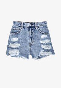 PULL&BEAR - Denim shorts - royal blue - 5