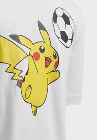 adidas Performance - POKÉMON T-SHIRT - Print T-shirt - white - 3
