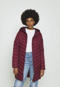 Hollister Co. - Winter coat - burgundy - 0
