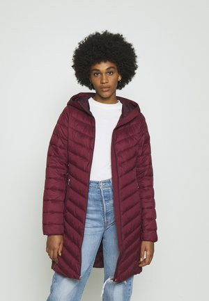 Winter coat - burgundy
