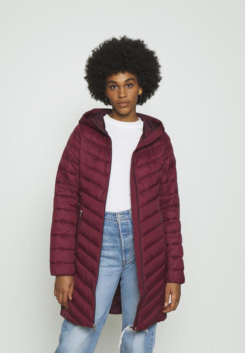 Hollister Co. - Winter coat - burgundy