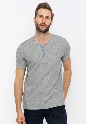 T-shirt basic - grey melange