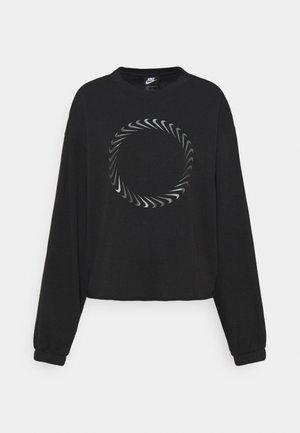 CLASH CREW - Sweatshirt - black/dark smoke grey