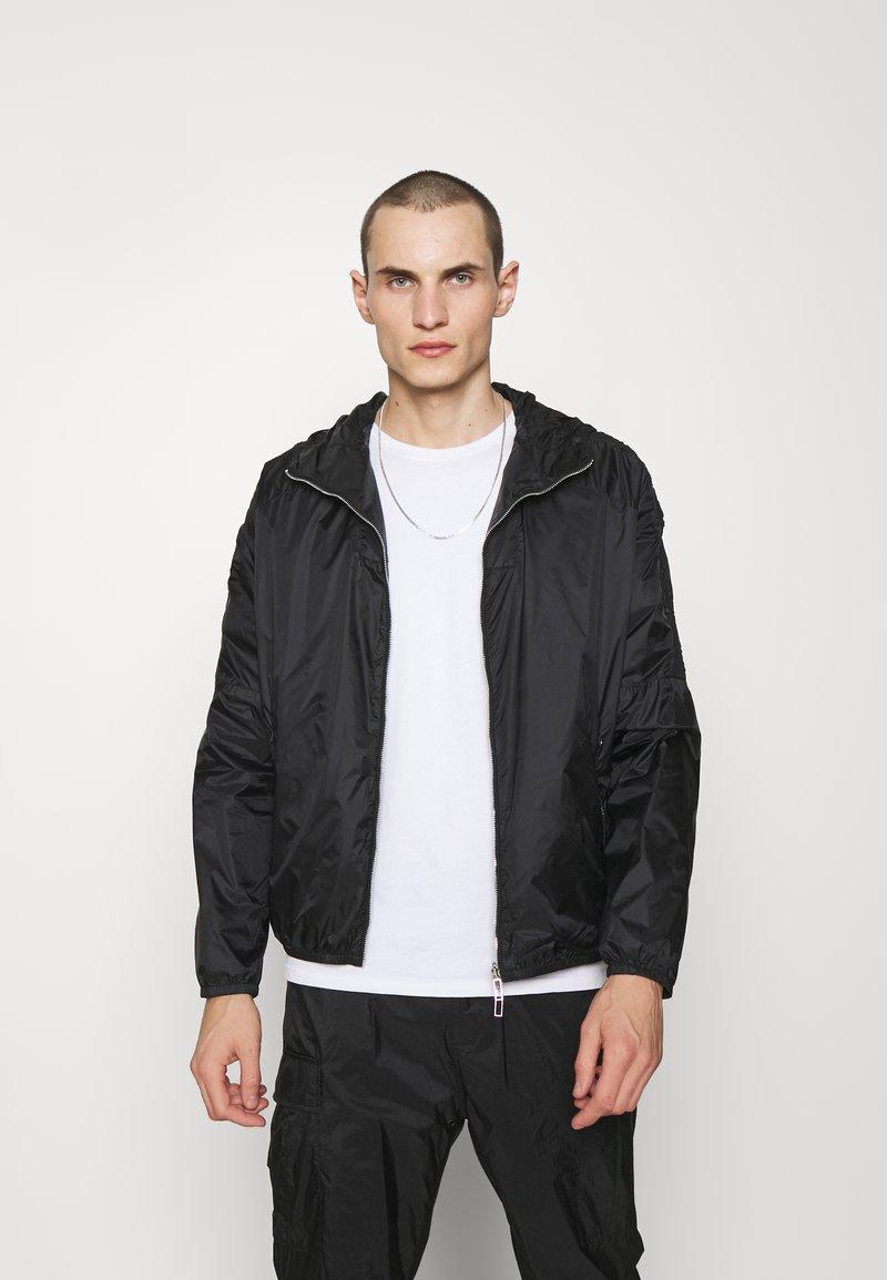 Emporio Armani - BLOUSON JACKET - Summer jacket - black