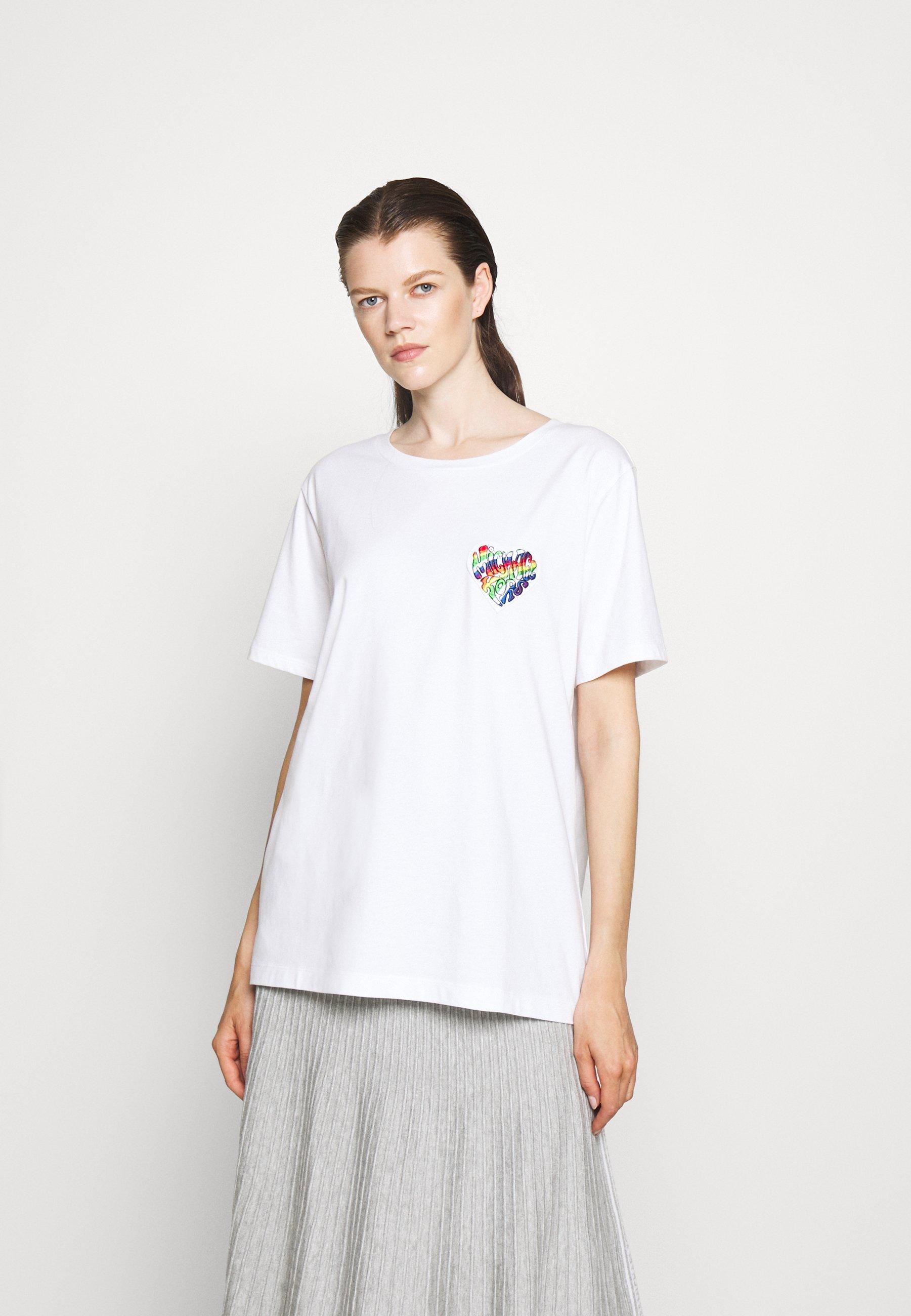 Damen RAINBOW BADGE  - T-Shirt print