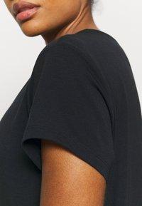 Varley - TILDEN  - T-shirt basic - black - 5