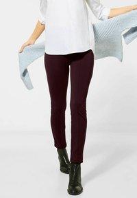 Street One - Leggings - Trousers - rot - 0