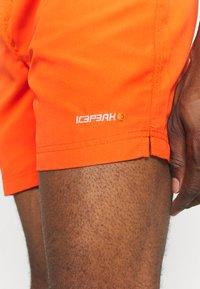Icepeak - MELSTONE - Outdoorové kraťasy - dark orange - 3