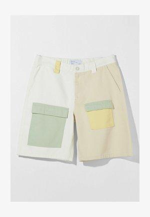 Short en jean - beige