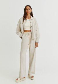 PULL&BEAR - Trousers - white - 1