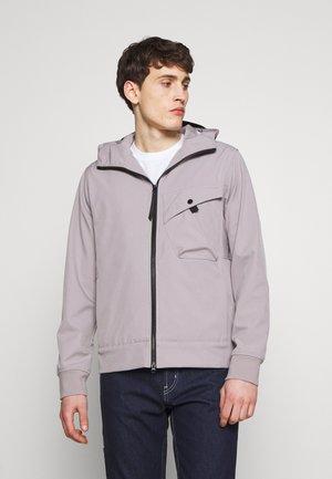 HOODED JACKET - Waterproof jacket - quicksilver