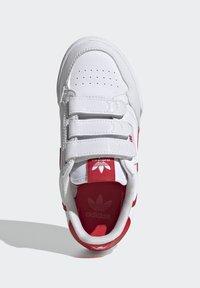 adidas Originals - CONTINENTAL 80 SHOES - Baskets basses - footwear white/vivid red - 1