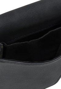Expatrié - AMELIE - Across body bag - schwarz-gelb - 6