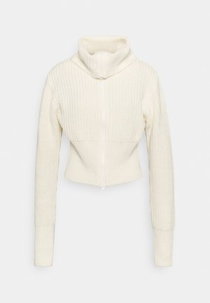 PEYTON - Chaqueta de punto - warm white