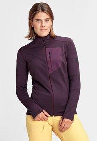 Mammut - ACONCAGUA - Zip-up hoodie - blackberry - 0
