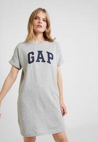 GAP - ARCH TEE - Jersey dress - light heather grey - 0