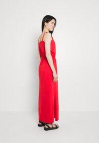 Vila - VIDREAMERS SINGLET - Maxi dress - flame scarlet - 2