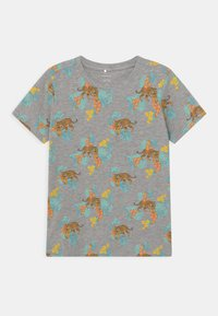 Name it - NKMBILLAZ 5 PACK - Print T-shirt - grey melange - 2