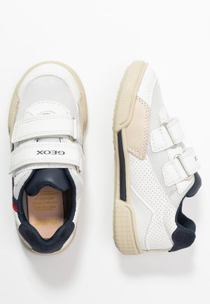 POSEIDO BOY - Trainers - white/navy