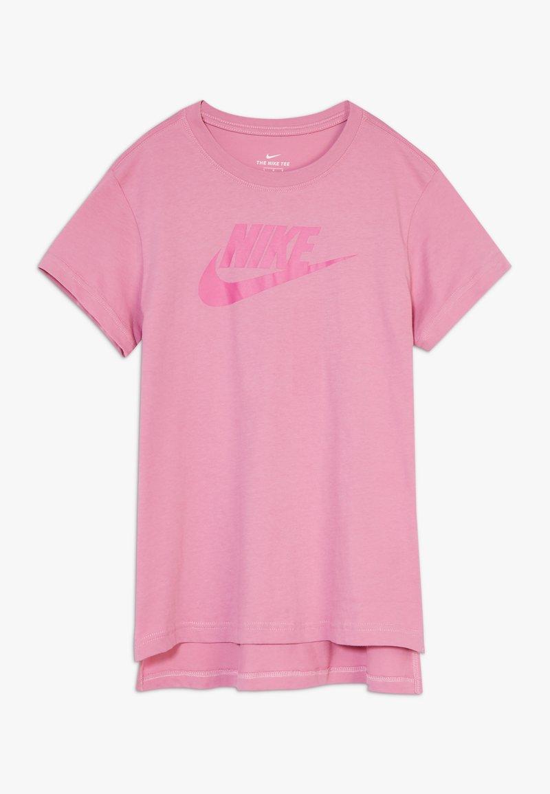 Nike Sportswear - BASIC FUTURA - Camiseta estampada - magic flamingo/fire pink